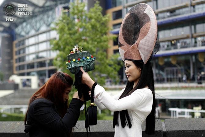 модные женские шляпки на Royal Ascot 6 (670x447, 159Kb)