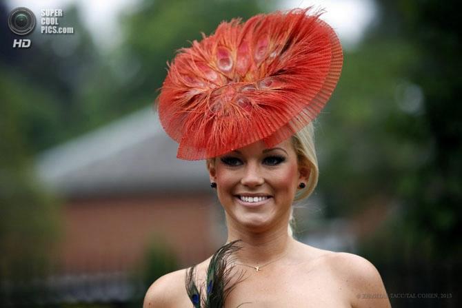 модные женские шляпки на Royal Ascot 8 (670x447, 111Kb)