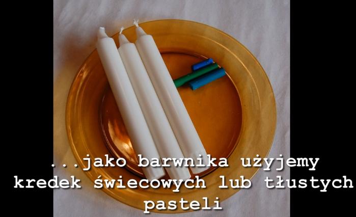 Как сделать круглую плоскую свечу с морскими ракушками.