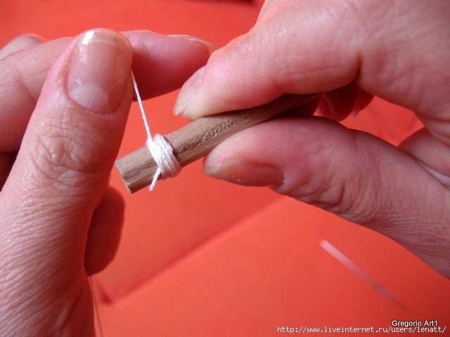 罗马尼亚花边:针织技术 9 - maomao - 我随心动