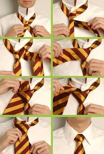 Учимся завязывать галстук.  Вот несколько способов как завязать галстук.  1. Простой узел - завязывать легче всего.