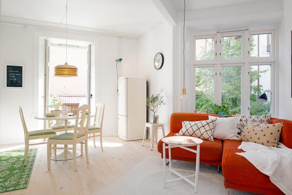 красивый интерьер для маленькой квартиры фото (600x400, 246Kb)