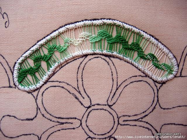 罗马尼亚花边:针织技术 14 - maomao - 我随心动