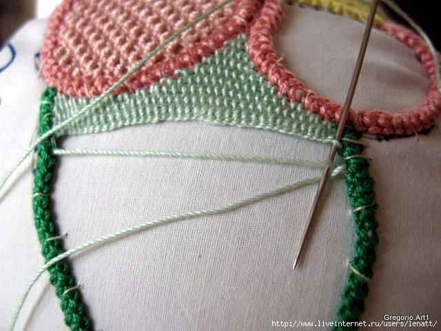 罗马尼亚花边:针织技术 15 - maomao - 我随心动
