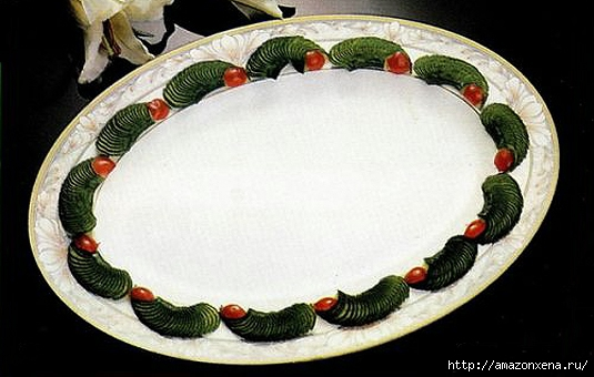 Овощной карвинг. Украшение салатов (1) (535x340, 127Kb)