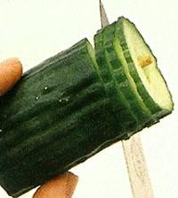 Овощной карвинг. Украшение салатов (19) (200x223, 26Kb)