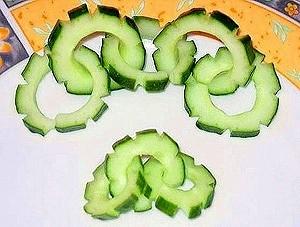 Овощной карвинг. Украшение салатов (32) (300x227, 62Kb)