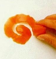 Овощной карвинг. Украшение салатов (41) (190x200, 25Kb)