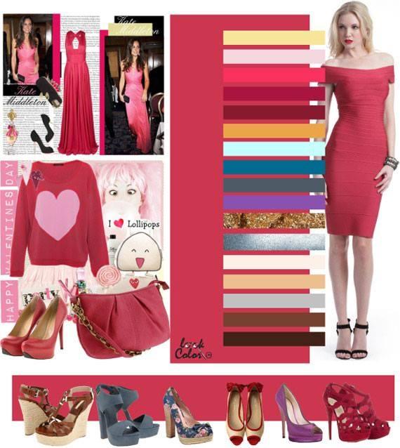Цвет семга в одежде