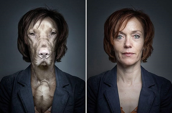 портреты хозяев со своими собаками фото 2 (570x376, 112Kb)
