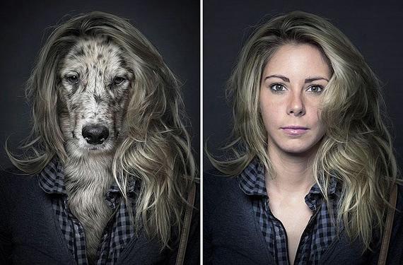 портреты хозяев со своими собаками фото 4 (570x375, 157Kb)