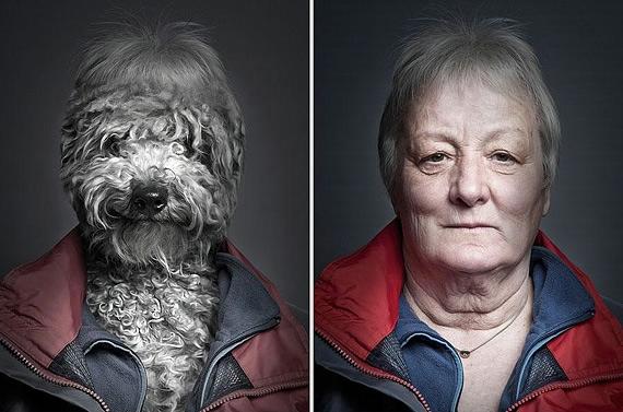 портреты хозяев со своими собаками фото 6 (570x377, 139Kb)