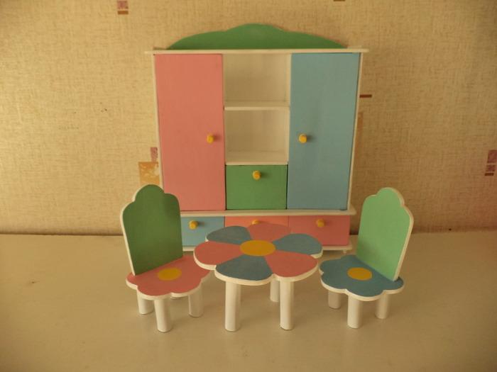 Мебель для барби из дерева своими руками