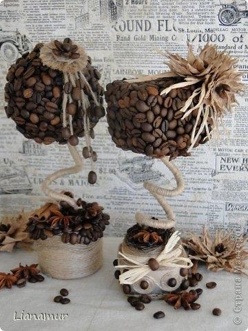 Поделки из кофейных зерен своими руками пошагово фото 683