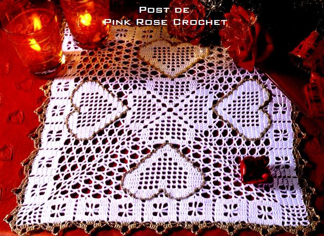сердечное вязание крючком. сафетки крючком схемы (9) (664x484, 664Kb)
