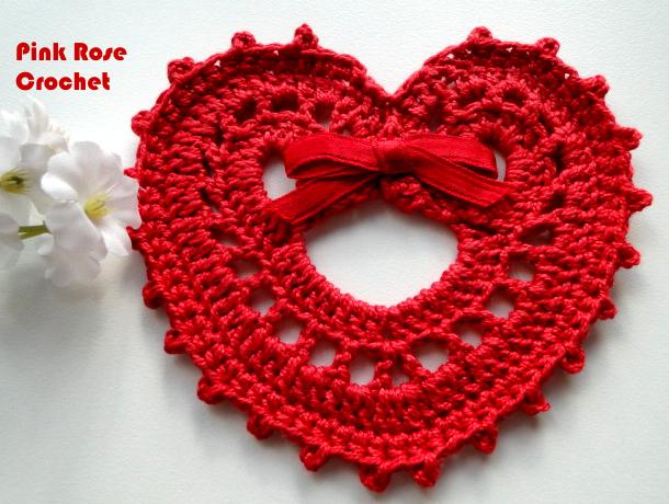 сердечное вязание крючком. сафетки крючком схемы (11) (610x460, 540Kb)