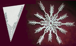 Снежинки из Салфеток.. Обсуждение на LiveInternet - Российский Сервис Онлайн-Дневников