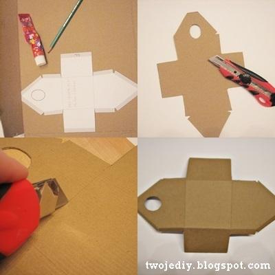 Как сделать из картона скворечник своими руками