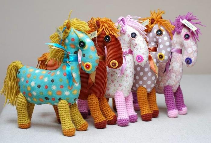 Фото лошадок своими руками