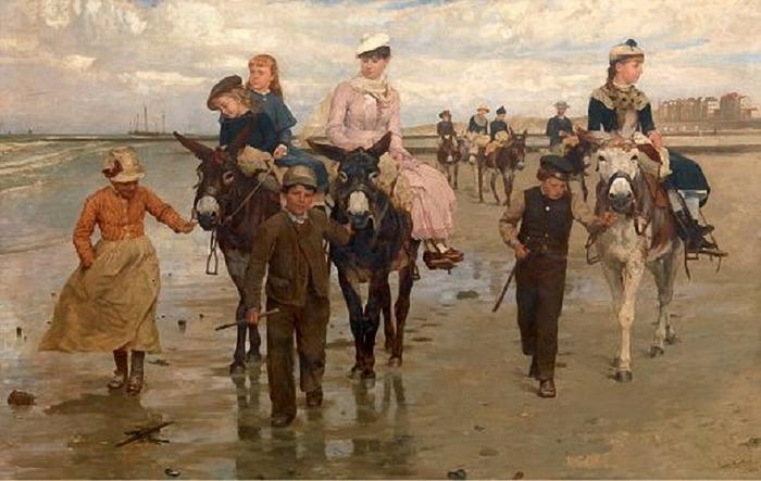 Jan Frans Verhas (1834 � 1896, Belgian) (700x443, 223Kb)