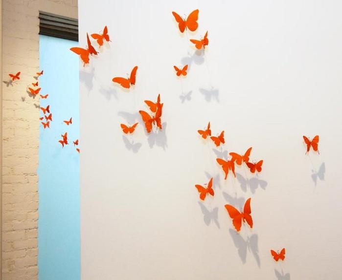 Paul-Villinski-orange-butterflies (700x573, 213Kb)