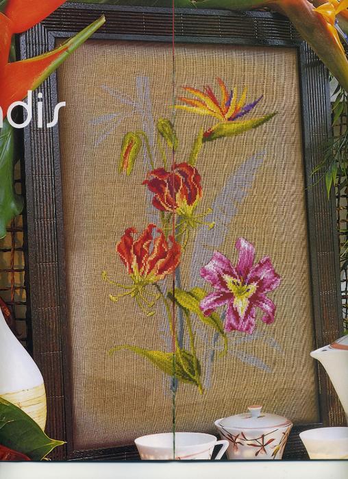 DFeA 50 Fleurs tropicales (508x700, 507Kb)