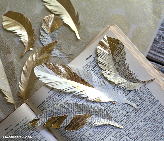 GoldPaperFeathers (560x483, 340Kb)