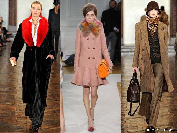 Модные Пальто Осень-Зима 2012-2013
