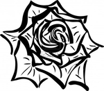 ������ 11294204-soda-sketch-of-a-flower-resembling-a-rose (400x350, 84Kb)