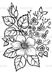 Превью depositphotos_22600823-beautiful-flower-arrangement-a-black-outline-on-a-white-background (492x700, 213Kb)