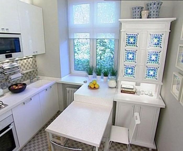 кухня 2 на 2 5 дизайн