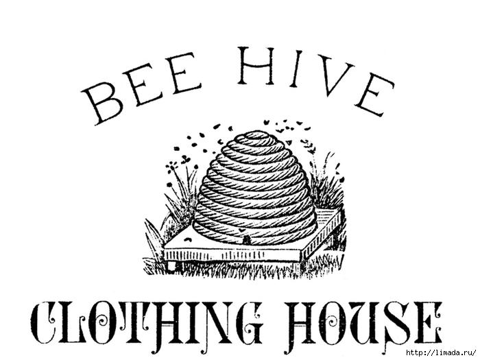 BeeHiveVintagePrintableGraphicsFairysm (1) (700x525, 134Kb)