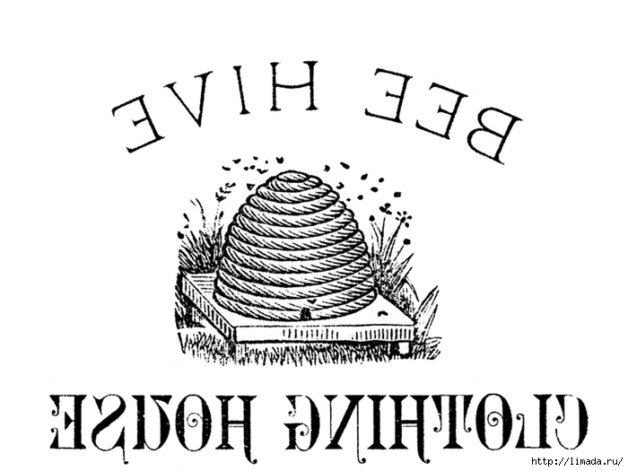 BeeHiveVintagePrintableGraphicsFairyRevsm (700x525, 134Kb)