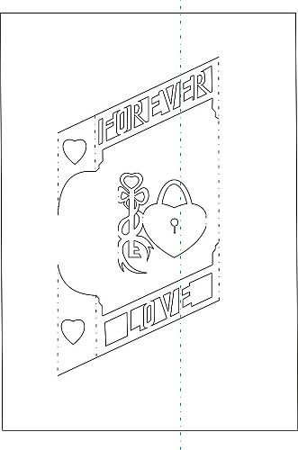 The Art of Kirigami KEY OF LOVE (331x500, 48Kb)