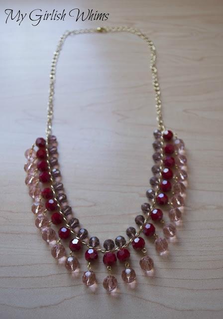 Ожерелье из бисера по уроку