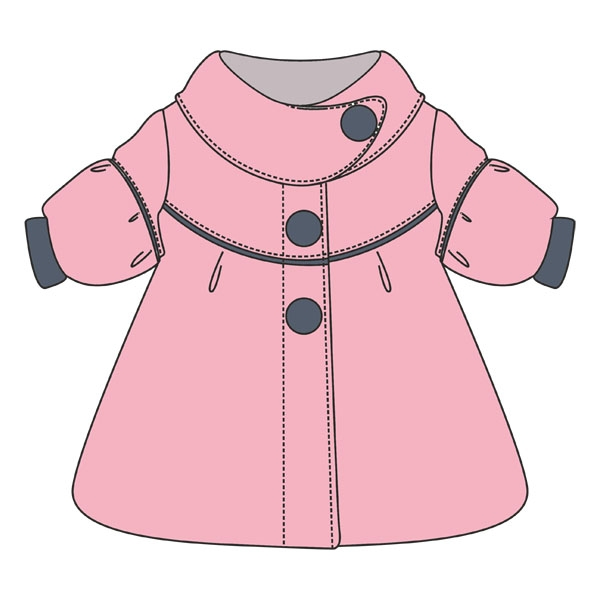 Шитье детского халата