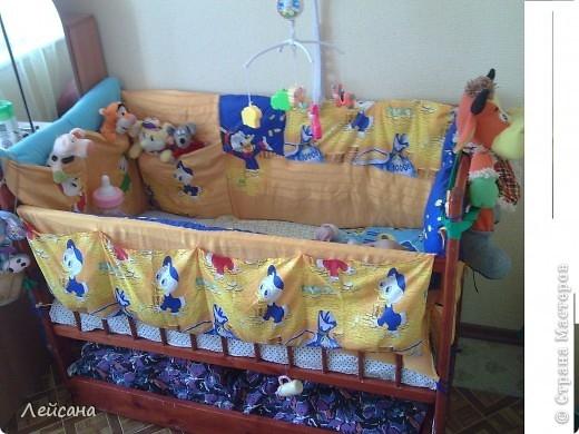 Для детской кроватки своими руками фото
