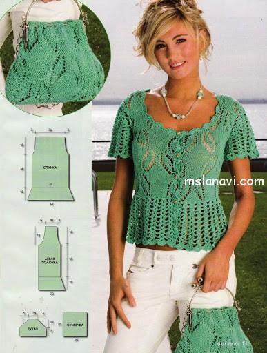 ажурная-блуза-и-сумочка-описание (387x512, 215Kb)