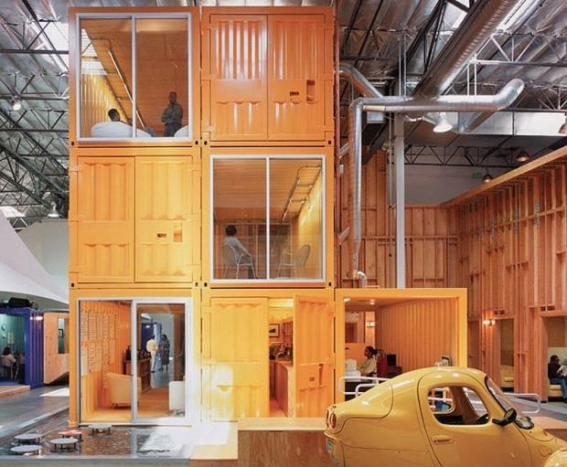 3. Многоэтажный офис компании «Pallotta Teamworks» в Лос-Анджелесе (620x511, 198Kb)