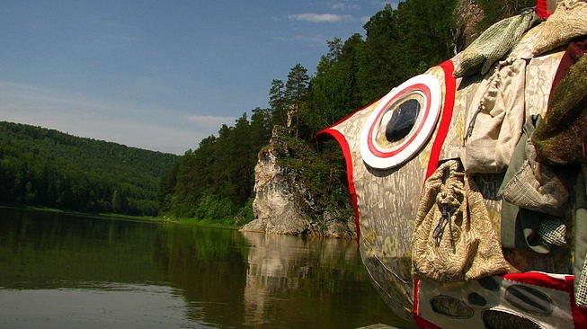 Большая рыба реки Чусовой