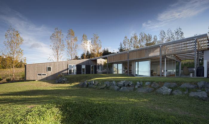 дизайн деревенского дома фото 1 (700x417, 417Kb)