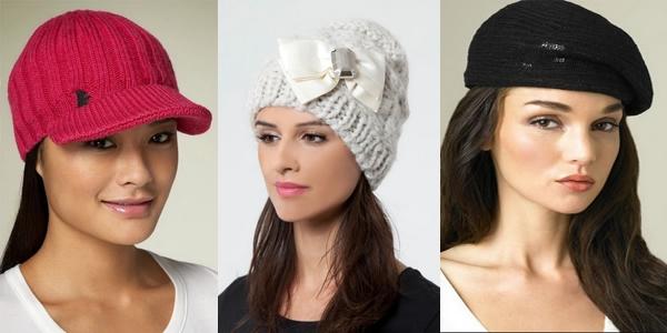 Вязаные шапки осень-зима 2014-2015 фото со схемами