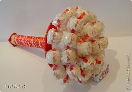 Букеты из конфет своими руками пошагово с
