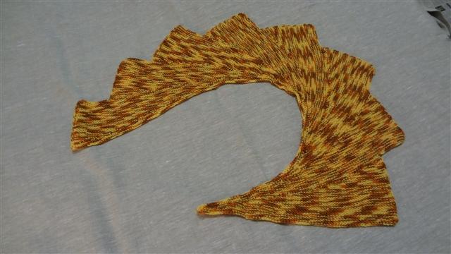 шаль размах крыла