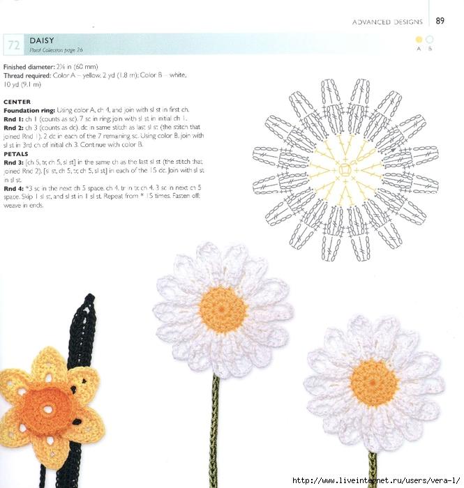 100 种小小花和叶子的钩编 - maomao - 我随心动