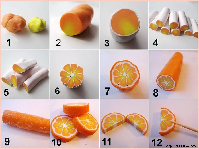 Полимерная глина апельсин. Фотохостинг - фотографии, картинки, изображения.