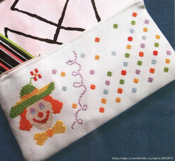 Вам понадобится: * схема вышивки * игла для вышивания с тупым концом 24...
