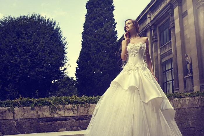 Prenses Gelinlik Modelleri, Prenses Modeli Gelinlikler 2013 - Akay (700x466, 268Kb)