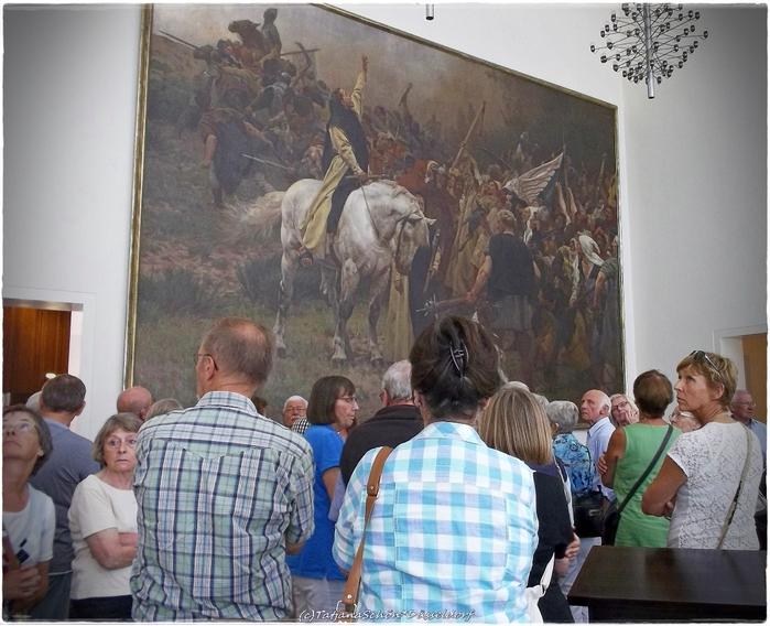 Битва 1288 года - в Дюссельдорфской ратуше