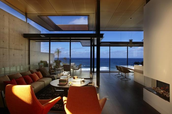современный дом на берегу океана (700x466, 208Kb)